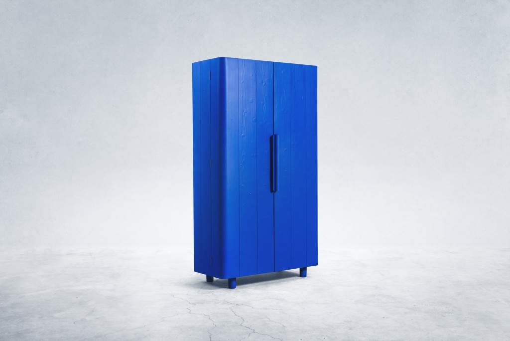 METAL SKIN CABINET BY JOB VAN DEN BERG