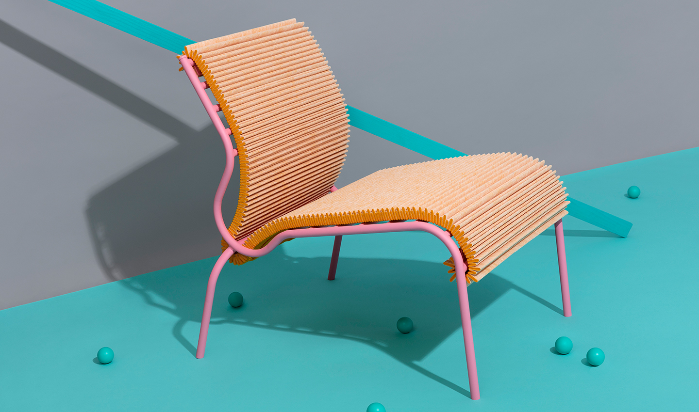 PLEATED SEAT BY JORIS DE GROOT
