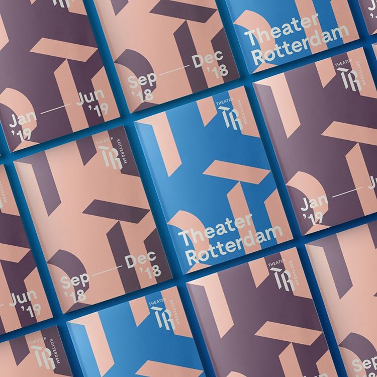 IDENTITY FOR THEATER ROTTERDAM BY VRUCHTVLEES